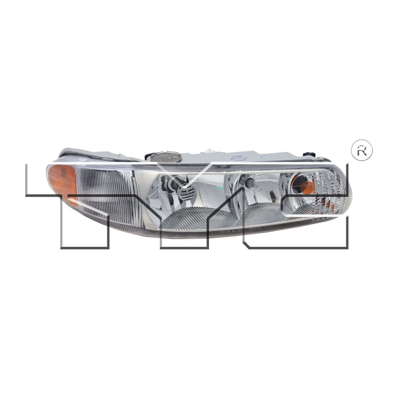 hight resolution of details about right side headlight assembly for 1997 2004 buick regal 1997 2005 century