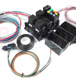 ls swap diy harness rework fuse block kit for ls standalone harness with fans [ 1600 x 1108 Pixel ]