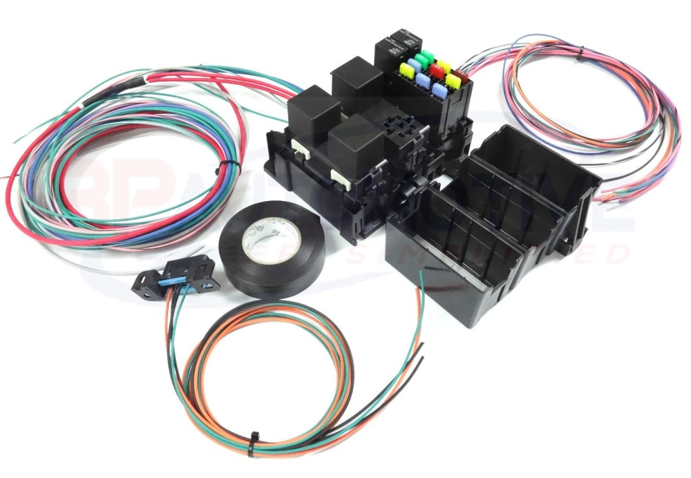 medium resolution of ls swap diy harness rework fuse block kit for ls standalone harness with fans
