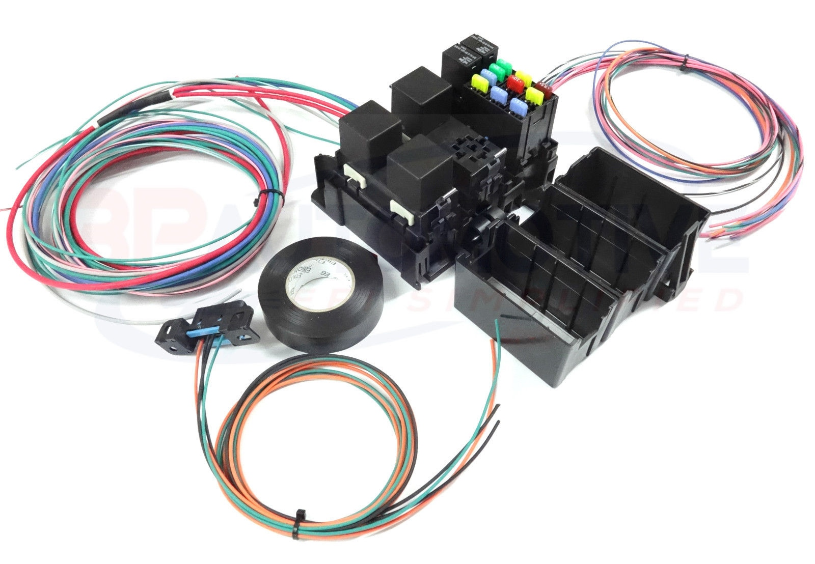 hight resolution of ls swap diy harness rework fuse block kit for ls standalone harness with fans