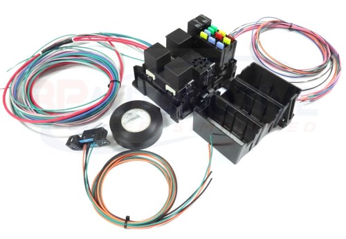 small resolution of ls swap diy harness rework fuse block kit for ls standalone harness with fans