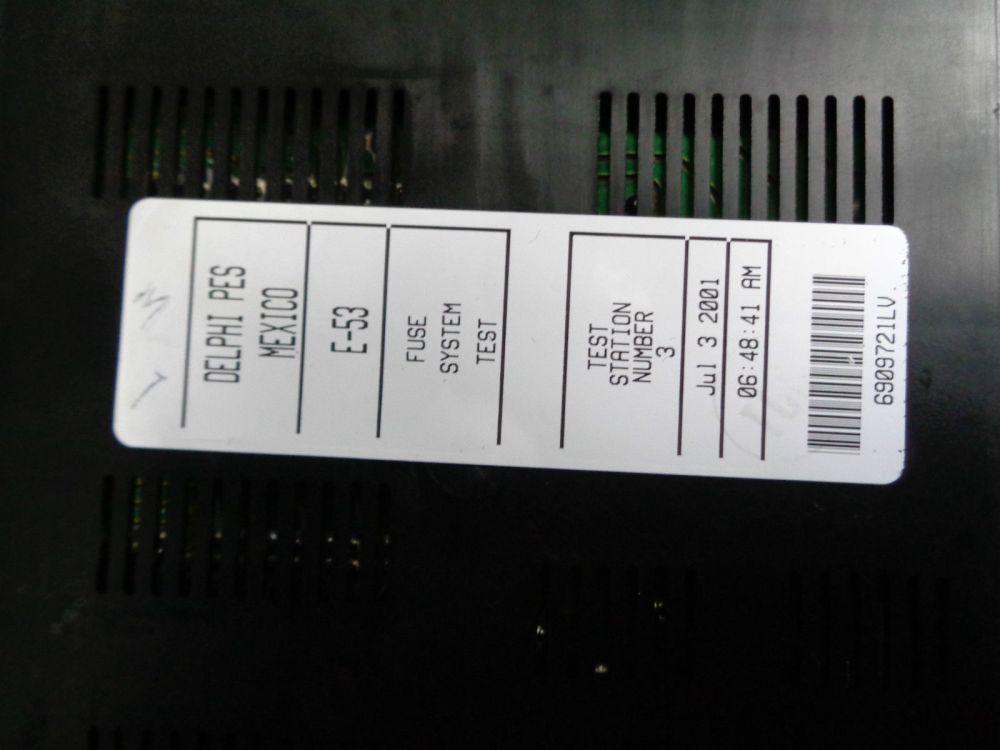 medium resolution of 2001 2006 bmw x5 4 4i v8 e53 fuse box
