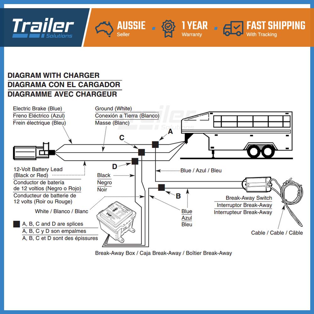 medium resolution of break away system with battery switch trailer float boat electric brakeaway