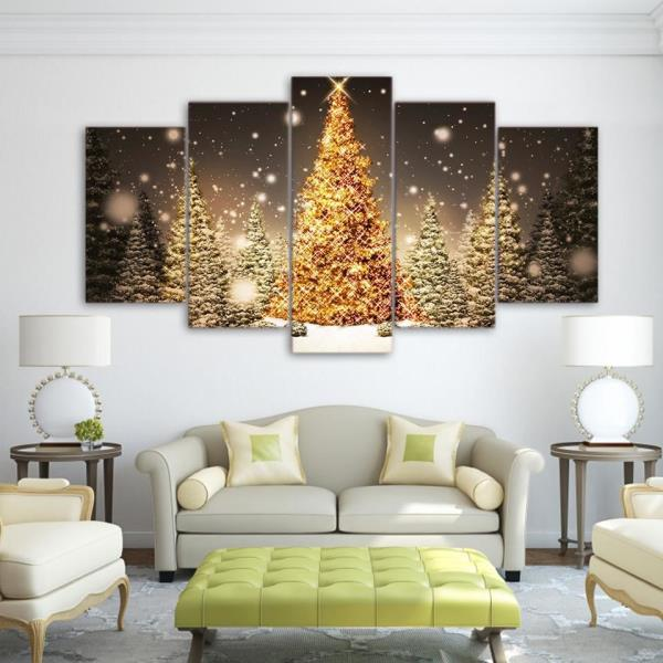 chair upside down on wall louis 16th christmas tree art nice holiday panel see some of our recently sold items