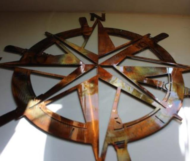 Copper Bronze Wall Art Plated Plated Decor Nautical Captains