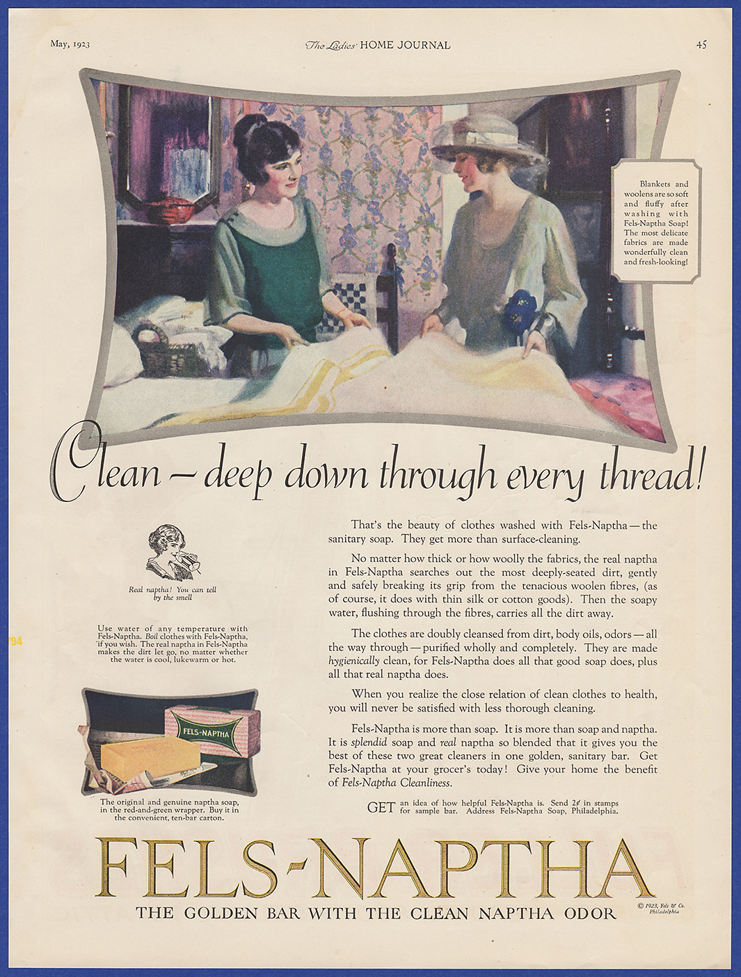 details about vintage 1923