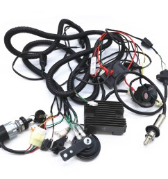 cf250 gy6 250cc kandi kinroad buggy complete wiring loom harness components [ 2048 x 1536 Pixel ]