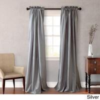 "NEW Set 2 Window Curtains Panels Drapes Pair 108 "" Faux ..."