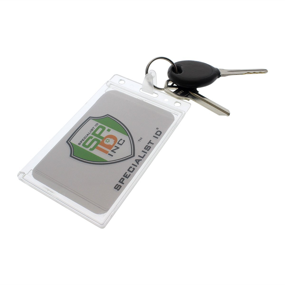 Fuel Card Holder Key Chain / Gas Card Key Ring