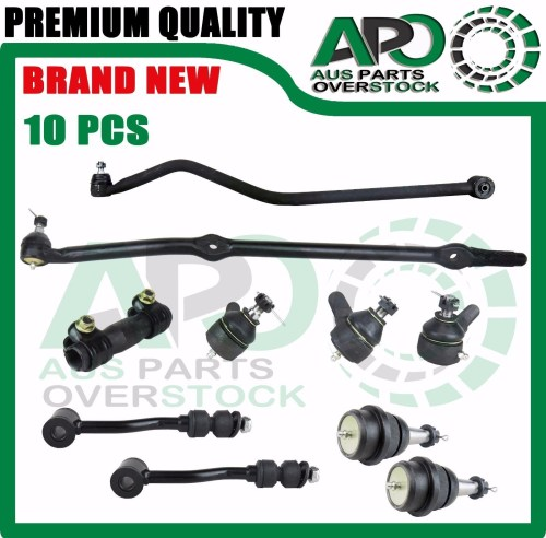small resolution of details about jeep wrangler tj 96 06 drag link tie rod end ball joint sway bar link sleeve lhd