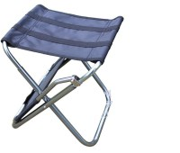 PVC camping Fishing Chairs Portable Stool Chair Black