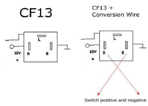 3Pin CF13 & CF14 LED Flasher Relay For Turn Signal Lights