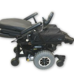 Quantum 600 Power Chair Used Off Road Wheelchair Hd Knobby Tires Pride