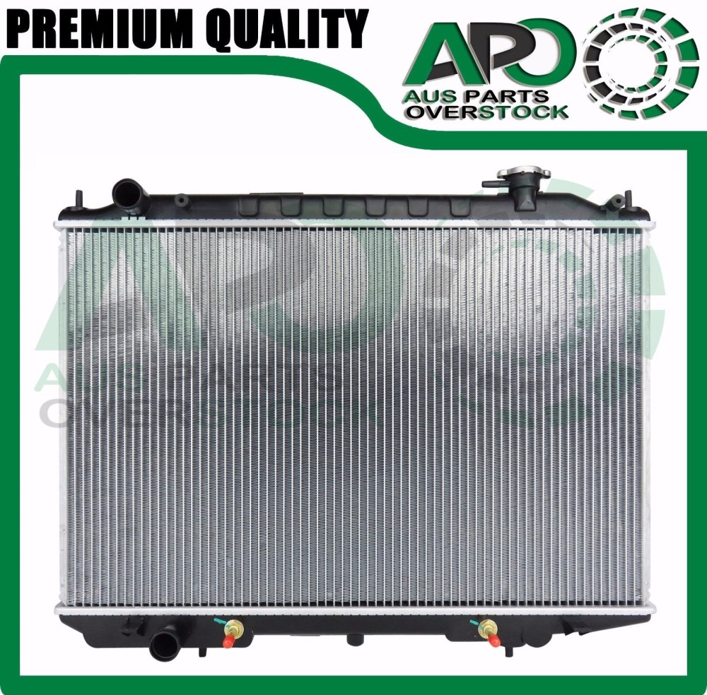 medium resolution of details about premium quality radiator for nissan navara d22 2 5l yd25 turbo diesel 2007 on