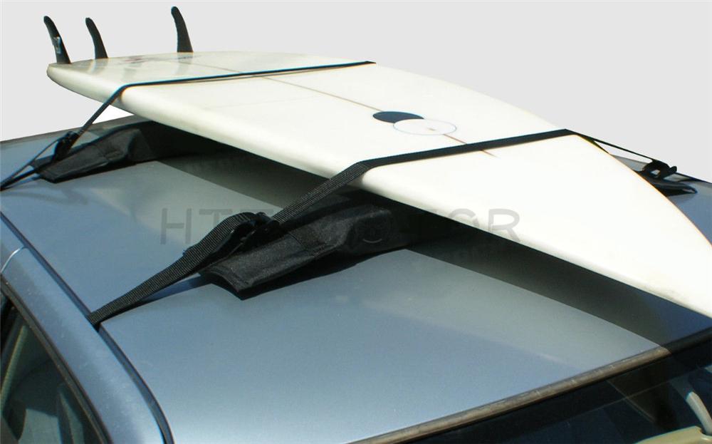pair easy soft roof racks car van
