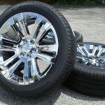 22 Chrome Chevy Silverado Tahoe Suburban Xl Rims Wheels Pirelli Tires Tpms New Ebay