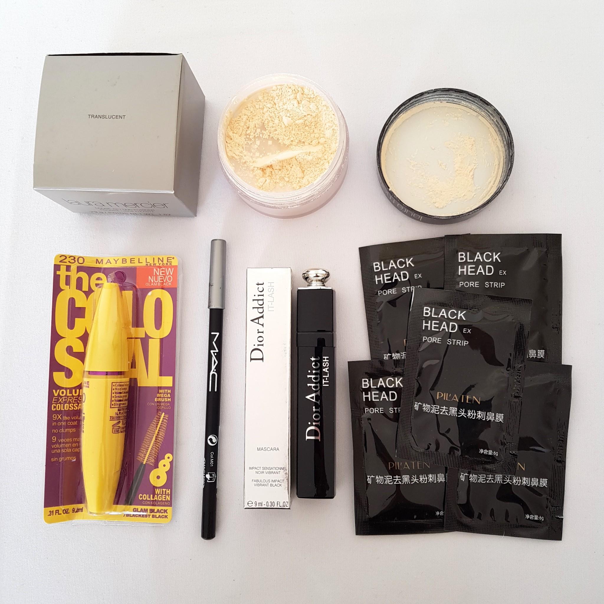 Translucent Loose Setting Powder Face Mask Mascara Eyeliner Cosmetics Make Up - Inspired Beauty Australia