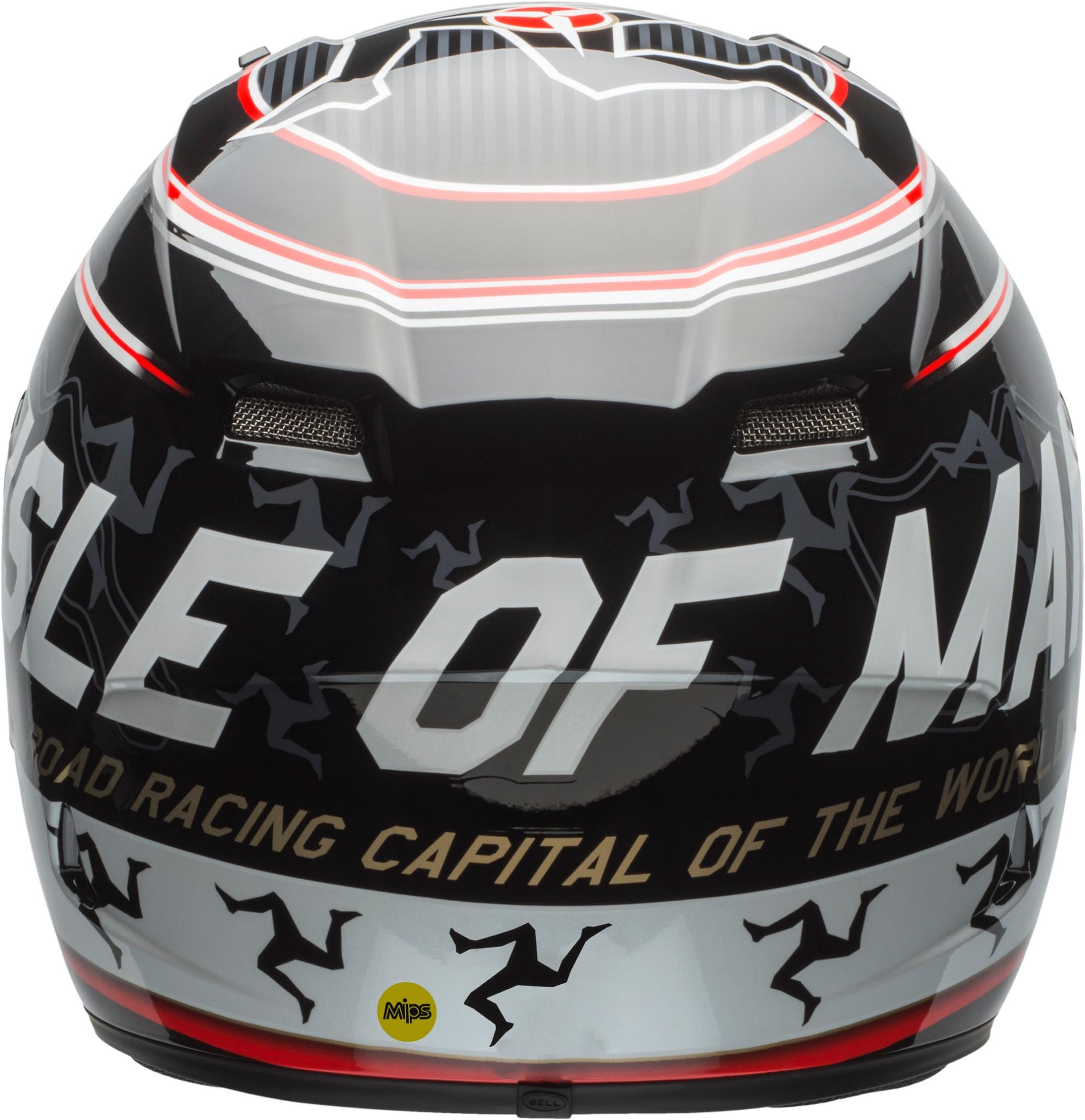 Bell Qualifier Dlx Mips Helmet Isle Of Man 18 Gloss