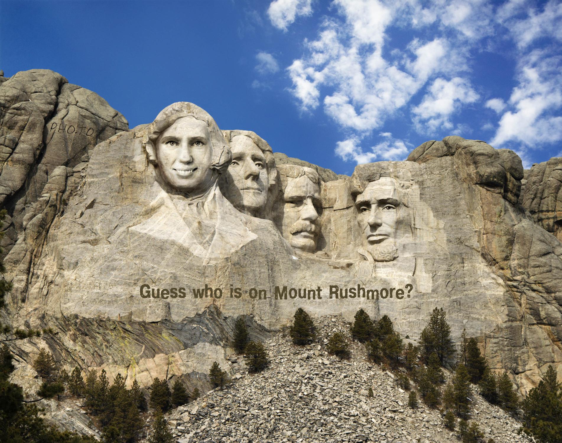 Make Your Own Mount Rushmore Online With Face In Hole Effect