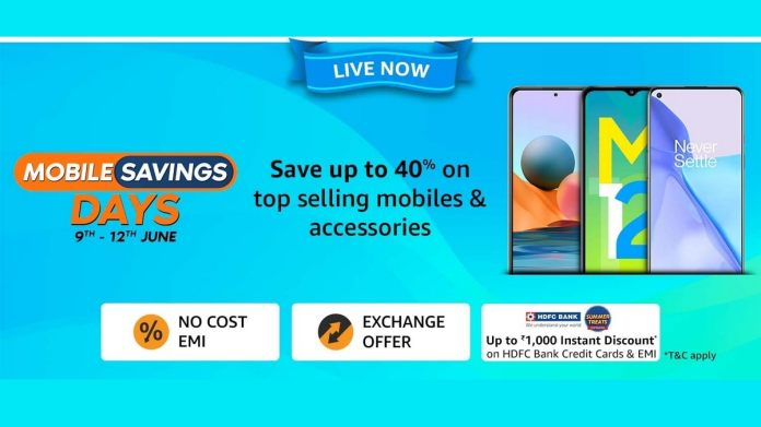 Amazon Mobile Savings Days Sale Is Live With Up to 40 Percent Savings on Smartphones, Accessories