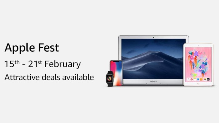 Amazon Apple Fest: iPhone XS, iPhone XS Max, iPhone XR, MacBook Air, and Others Get Discounts