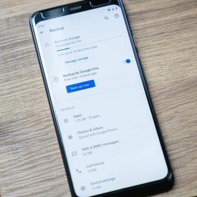 Google Reportedly Updating Android Backup to 'Backup by Google One'