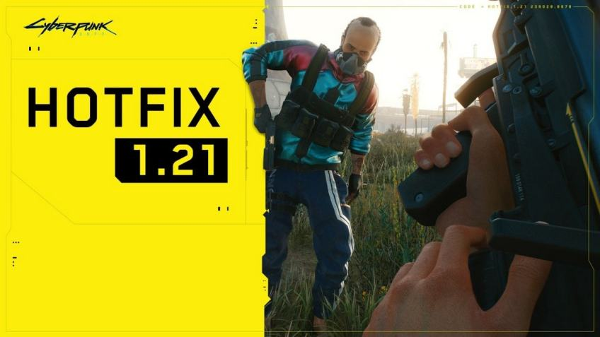 Cyberpunk 2077 Gets Host of Fixes, Stability Improvements With Hotfix 1.21