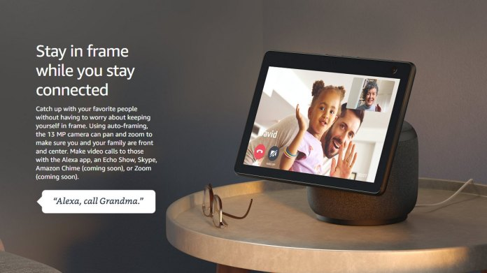 Amazon Echo Show 10 With Rotating Display 13 Megapixel Camera Netflix Support Launched Technology News