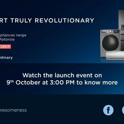Motorola Home Appliance Range Launching on October 9, Flipkart Page Reveals