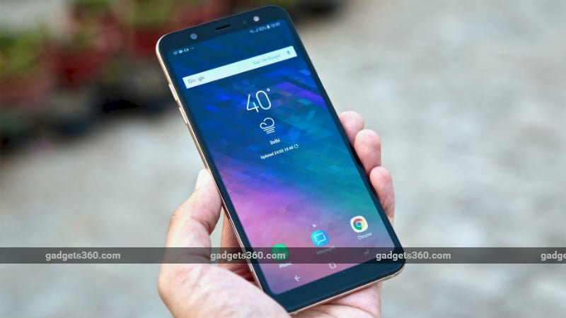 Samsung Galaxy A6 Review Ndtv Gadgets360 Com