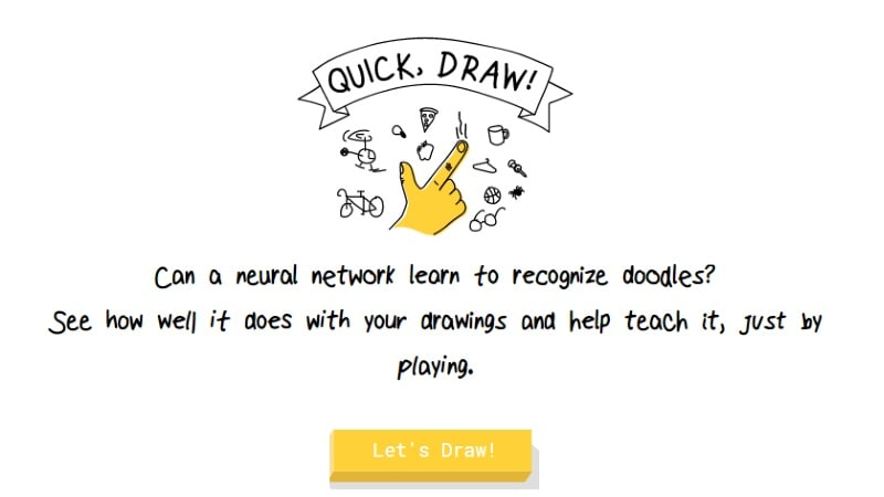 google quick draw launched