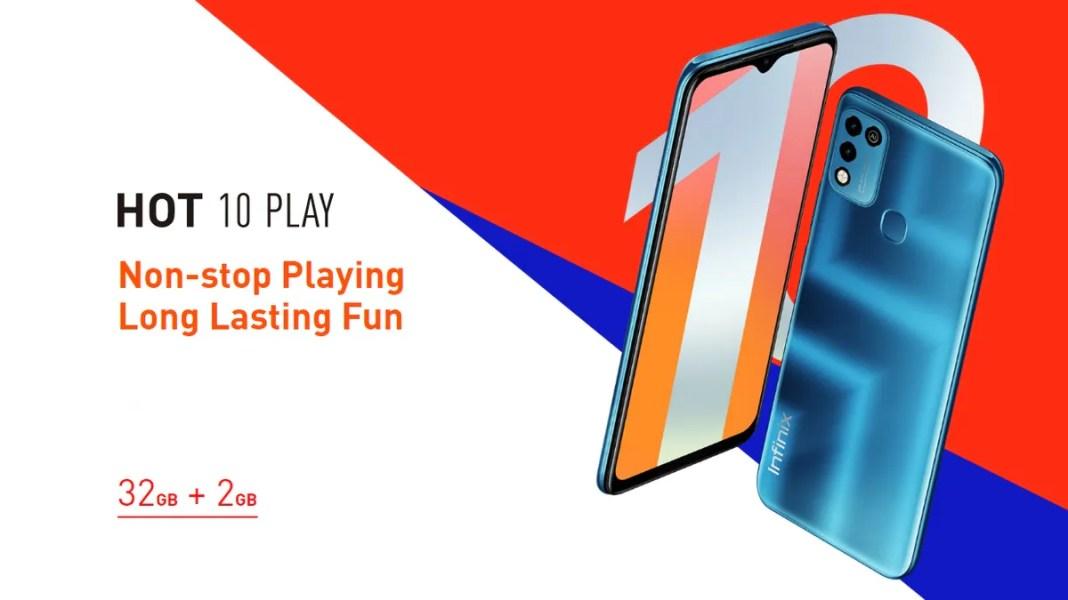 Infinix Hot 10 Play भारत में 19 मार्च को 6000mAh बैटरी के साथ होगा लॉन्च!