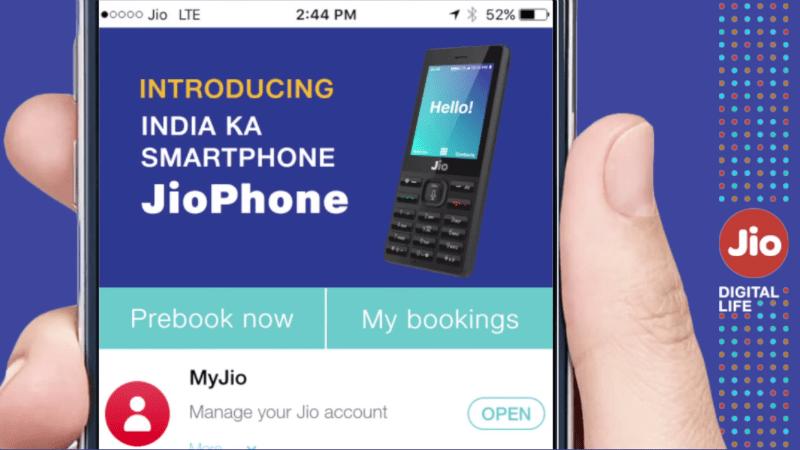Jio Phone Booking Online MyJio App 2 Jio Phone Bookings Process How to Order