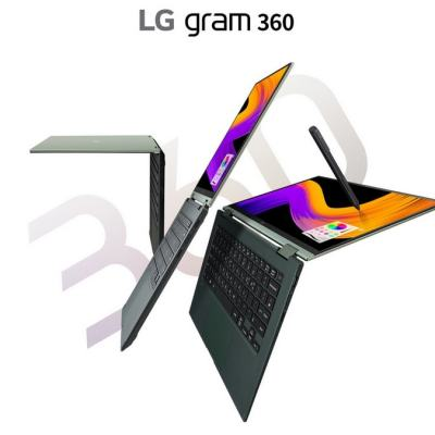 LG Gram 360 With Intel Tiger Lake CPU, 360-Degree Hinge Design Launched