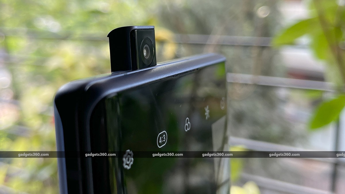 The light of the LG popupcamera Wing Wing Review