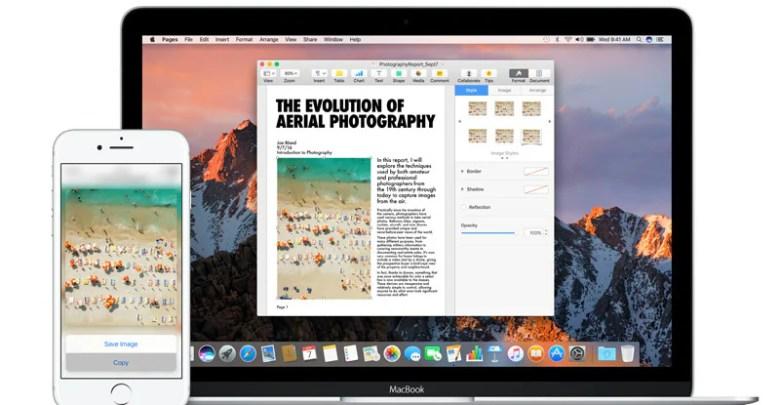 كيفية نسخ لصق النص والصور بين جهاز iPhone و Mac 1