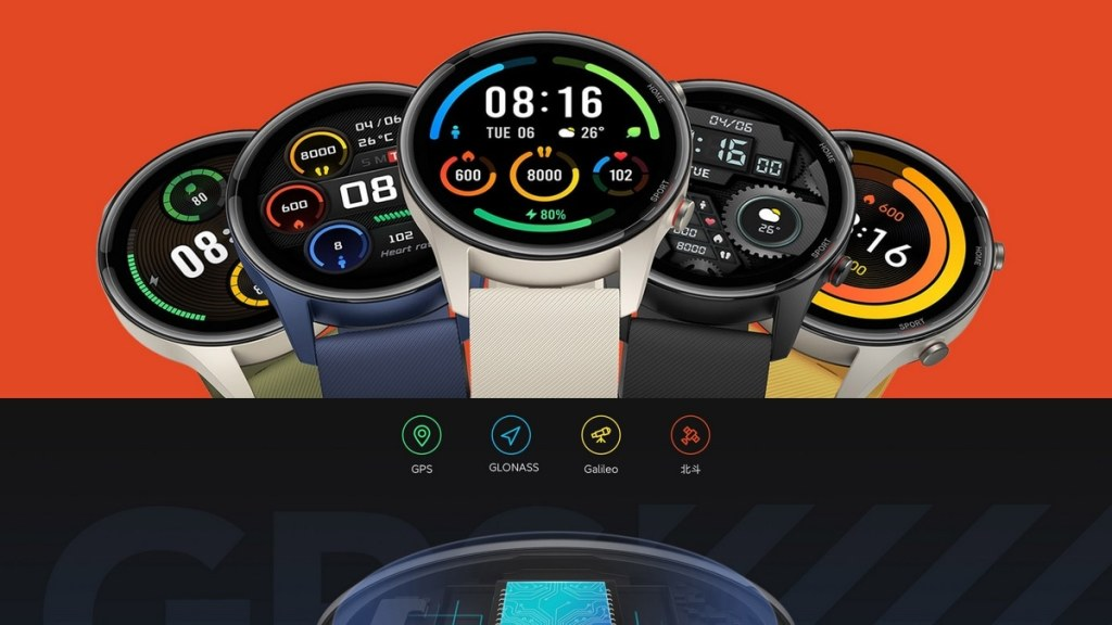 Mi Watch Color Sports Edition launched, equipped with built in GPS and 117 sports modes