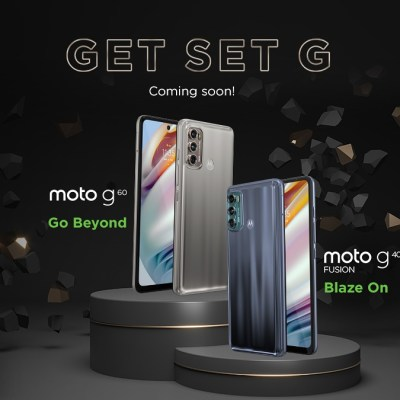 Moto G60, Moto G40 Fusion Monikers Confirmed by Motorola India