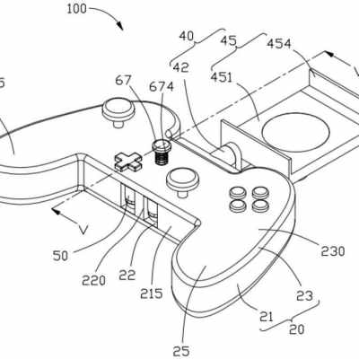Oppo Patents Mobile Gaming Controller With Built-in Earphone Storage: Report
