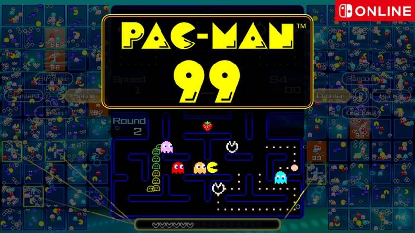 Pac-Man 99 Battle Royale Game Announced for Nintendo Switch Online Members