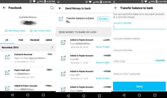 Paytm bank transfer   app how_to_transfer_money_from_paytm_wallet_to_bank_account