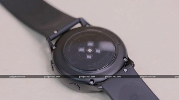 Samsung Galaxy Watch Active Heart Scanner Samsung Galaxy Watch Active Review