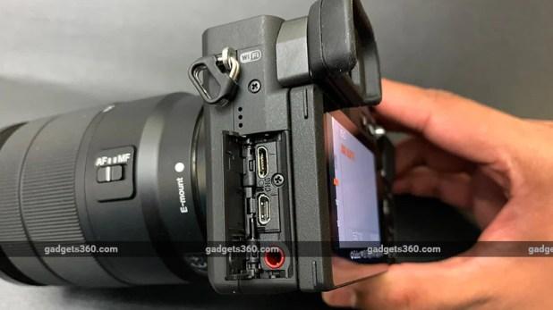 Sony A6400 ports ndtv sony
