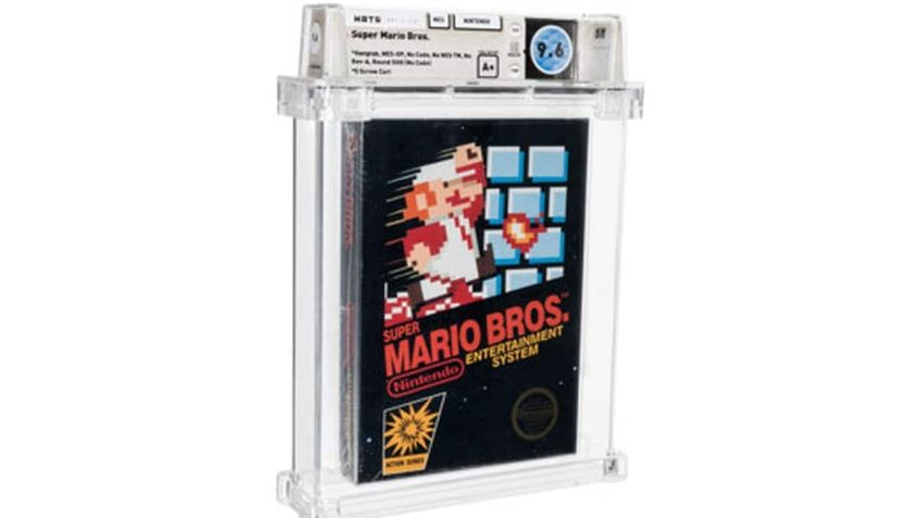 Nintendo's Super Mario Bros. From 1986 Auctions for $660,000