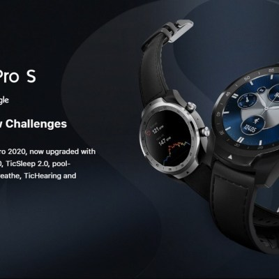 TicWatch Pro S With Up to 30-Day Battery Life, VO2 Max Monitoring Launched