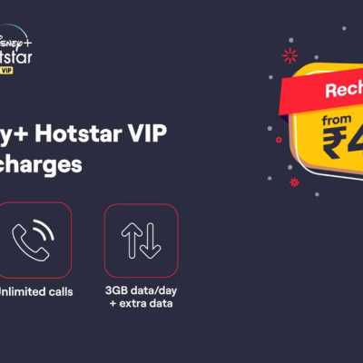 Vi Offering 1-Year Disney+ HotStar VIP Membership on Prepaid, Postpaid Plans
