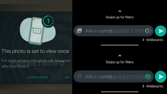 WhatsApp launches View Once photos and videos that disappear.