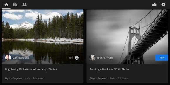 Adobe Lightroom Gets Interactive In-App Tutorials, Brings ...
