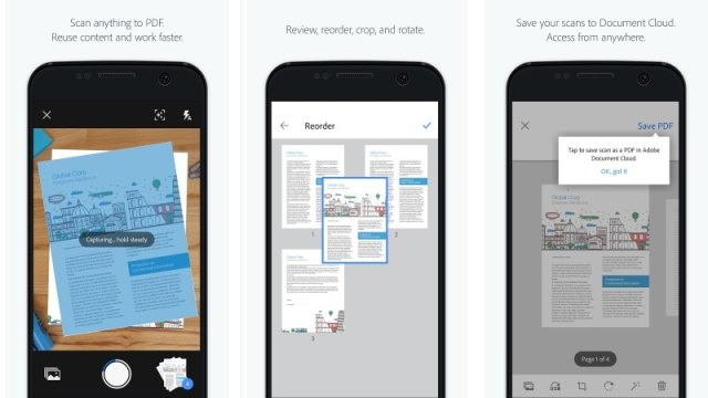 Adobe Scan App With Text Recognition Launched for Android and iOS