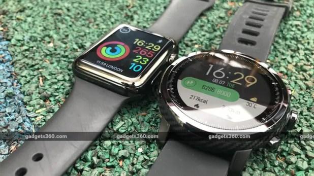amazfit stratos apple watch gadgets 360 Amazfit Stratos